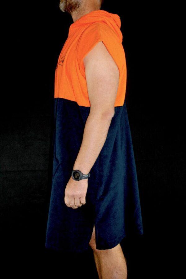 poncho-de-toalla-delocos-orange-perfil